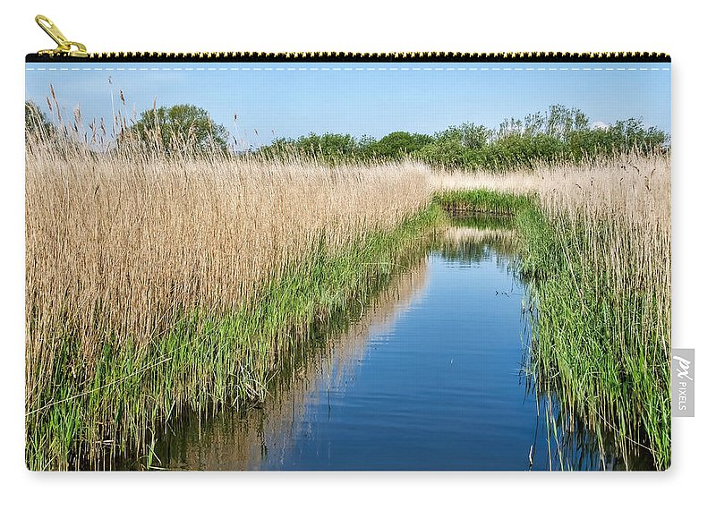 Weymouth Carry-all Pouch featuring the photograph Reed Beds At Radipole Lake 2 by Susie Peek