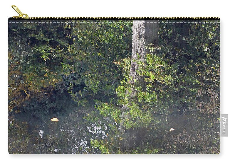 Tree Carry-all Pouch featuring the photograph Reflected Tree by Tony Murtagh