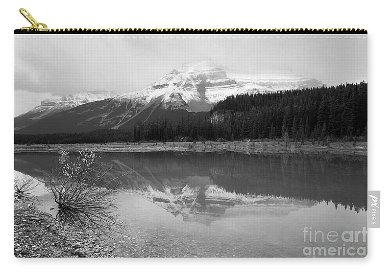 Graveyard Flats Carry-all Pouch featuring the photograph Reflecting Pool by Shannon Carson
