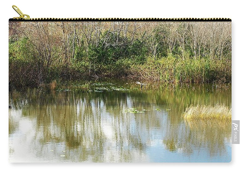 Lake Carry-all Pouch featuring the photograph Reflection by Jo Jurkiewicz