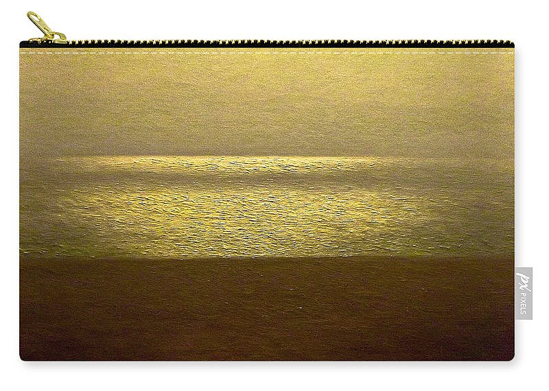 Seascape Carry-all Pouch featuring the painting Reflections 95 by Algirdas Lukas