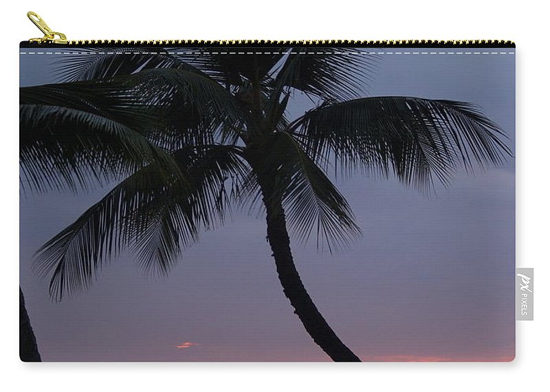Sunset Carry-all Pouch featuring the photograph Reflections by Athala Carole Bruckner