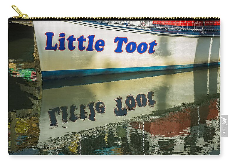 Florida Carry-all Pouch featuring the photograph Reflections by Jane Luxton