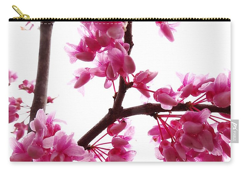 Pink Carry-all Pouch featuring the photograph Reflections Of Beauty 2 by Onyx Armstrong