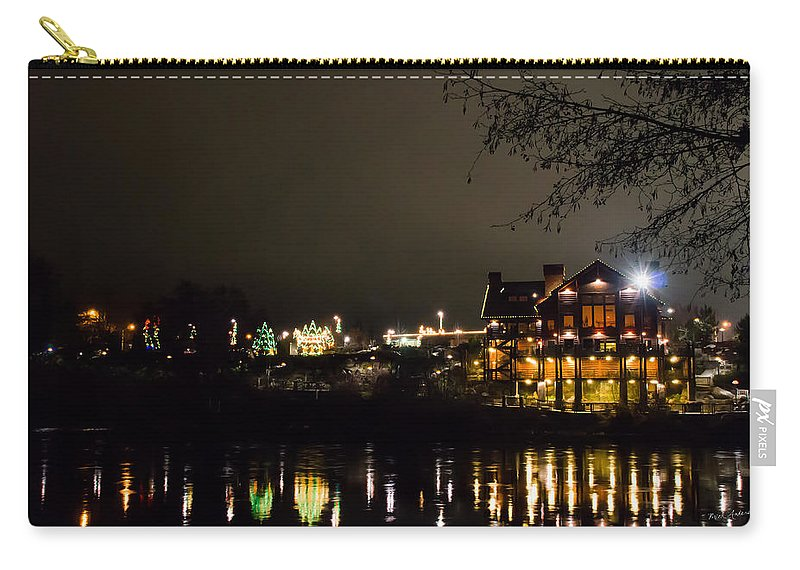 Reflections Carry-all Pouch featuring the photograph Reflections Of Taprock by Mick Anderson