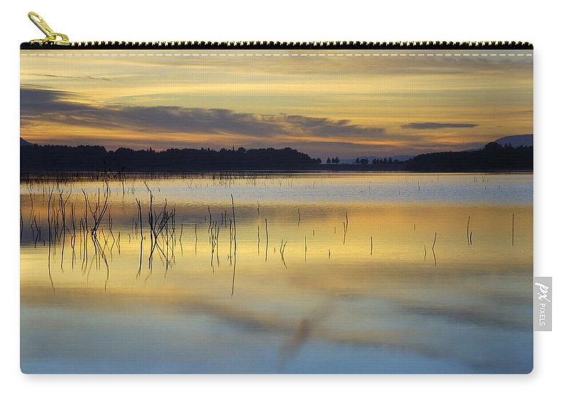 Sunset Carry-all Pouch featuring the photograph Reflexions by Guido Montanes Castillo