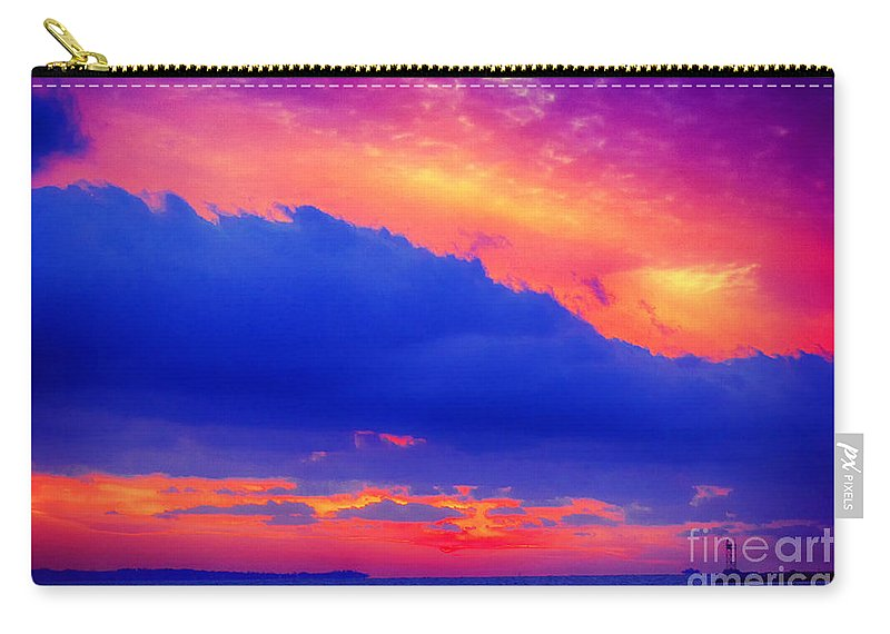 Sun Carry-all Pouch featuring the photograph Refractive by Joe Geraci