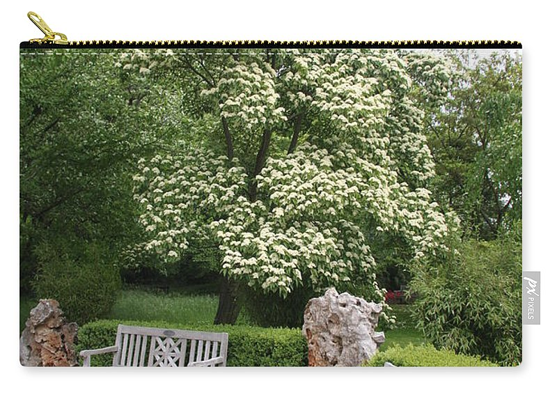 Park Carry-all Pouch featuring the photograph Relax In The Park by Christiane Schulze Art And Photography