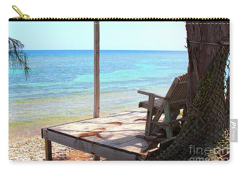 Porch Carry-all Pouch featuring the photograph Relax Porch by Carey Chen