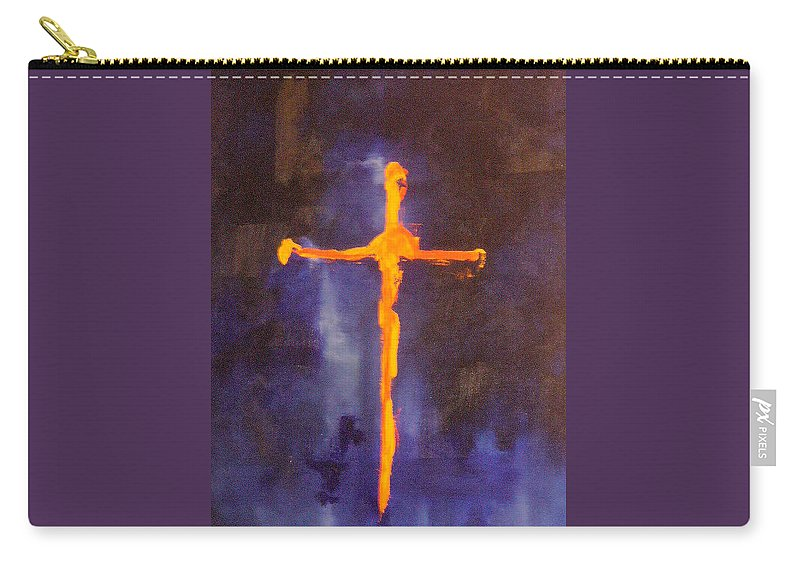 Religion Carry-all Pouch featuring the painting Religion II by Lord Frederick Lyle Morris - Disabled Veteran