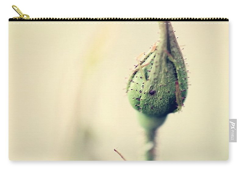 Rose Carry-all Pouch featuring the photograph Remember by Trish Mistric