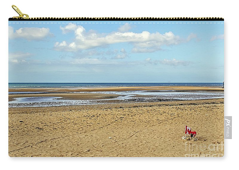 Travel Carry-all Pouch featuring the photograph Remembering D Day by Elvis Vaughn