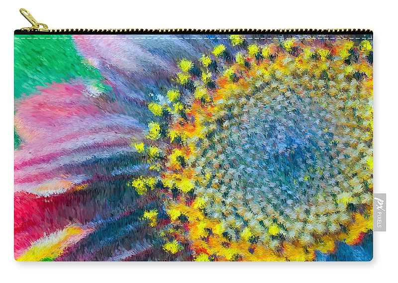 Yellow Carry-all Pouch featuring the photograph Remembering You by Heidi Smith