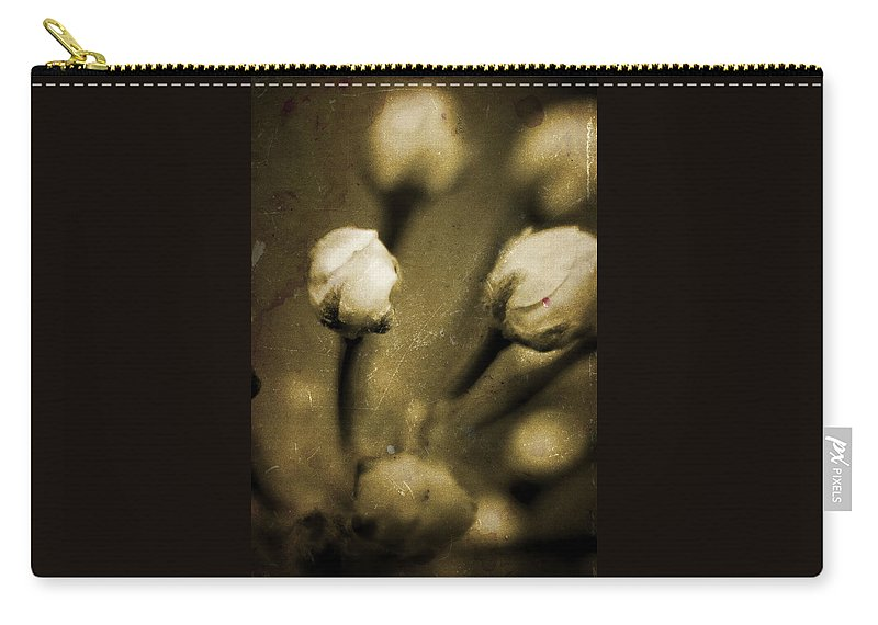 Flowers Carry-all Pouch featuring the photograph Renewal Of Life by Timothy Bischoff