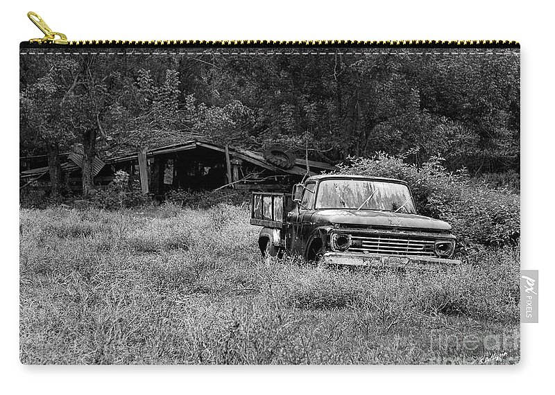 Landscape Carry-all Pouch featuring the photograph Retired by Scott Pellegrin