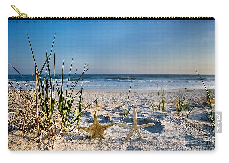 Beach Carry-all Pouch featuring the photograph Retirement by Dolly Genannt