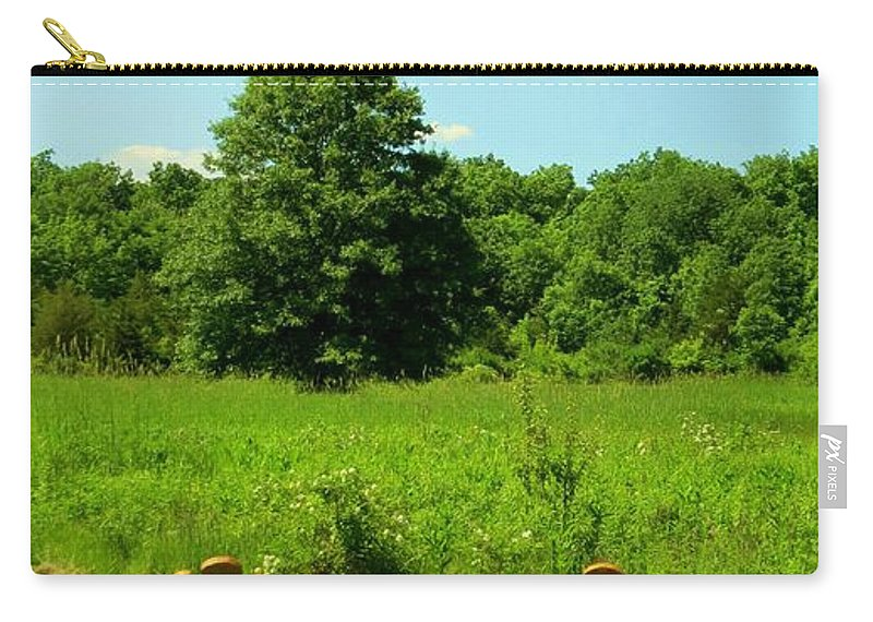 Nature Carry-all Pouch featuring the photograph Retirement Time by Art Dingo
