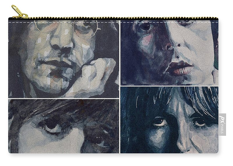 The Beatles Carry-all Pouch featuring the painting Reunion by Paul Lovering