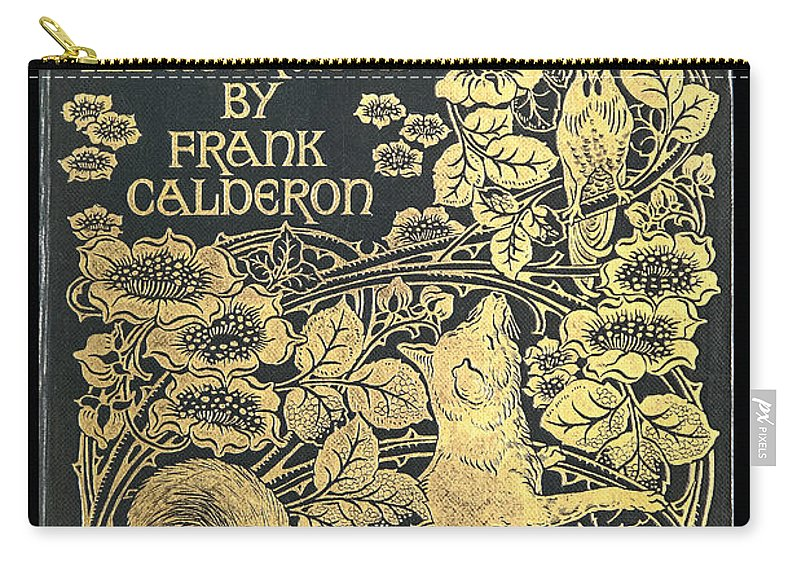 Ancient Carry-all Pouch featuring the photograph Reynard The Fox by Jack R Perry