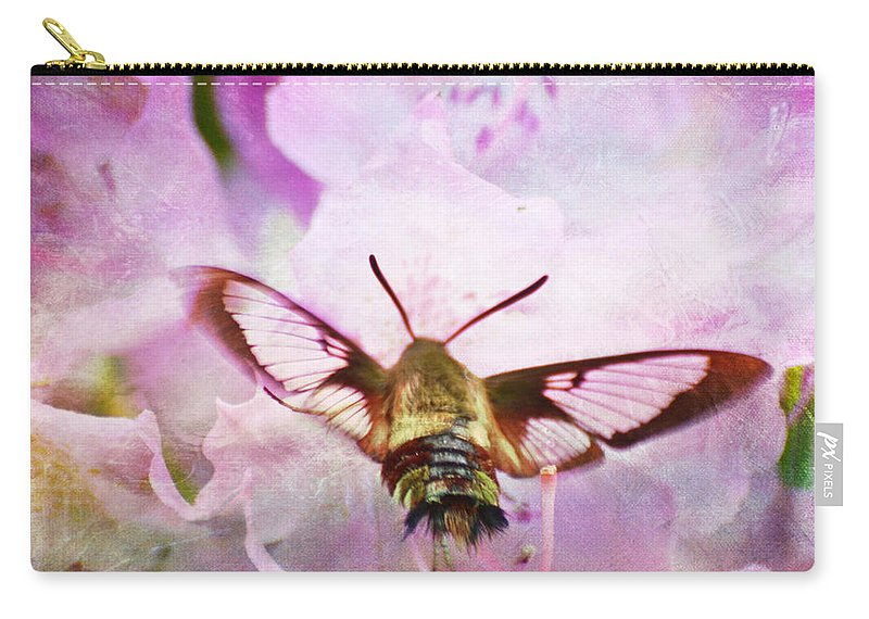Rhododendron Carry-all Pouch featuring the photograph Rhododendron Dreams by Kerri Farley