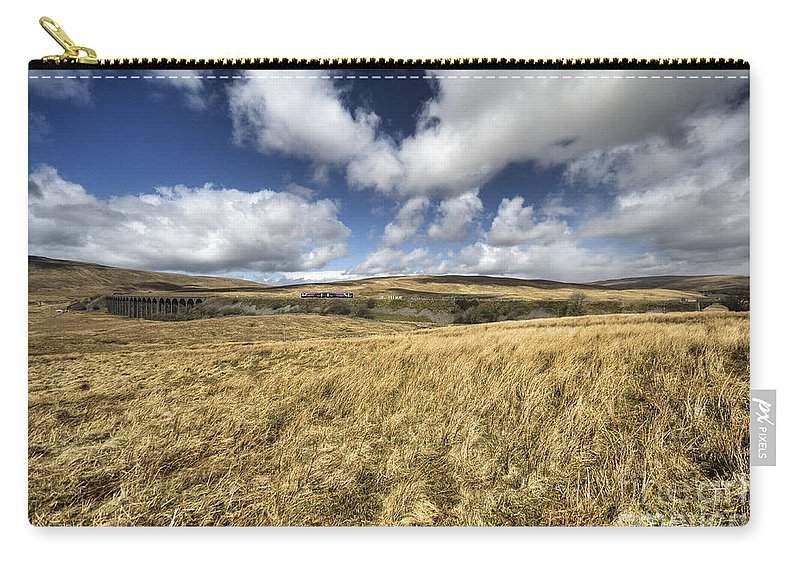 Ribblehead Carry-all Pouch featuring the photograph Ribblehead by Rob Hawkins