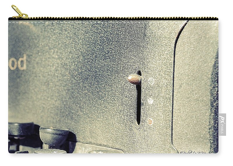 Popular Carry-all Pouch featuring the photograph Ribbon Selector by Paulette B Wright