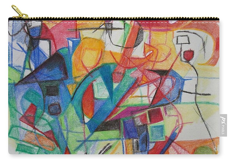 Torah Carry-all Pouch featuring the photograph Righteous Step 5 by David Baruch Wolk