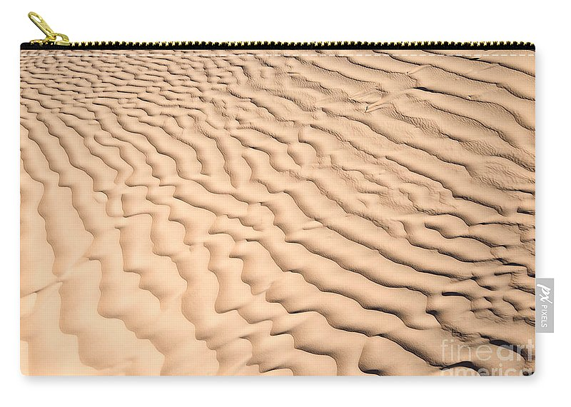 Desert Carry-all Pouch featuring the photograph Ripples by Delphimages Photo Creations