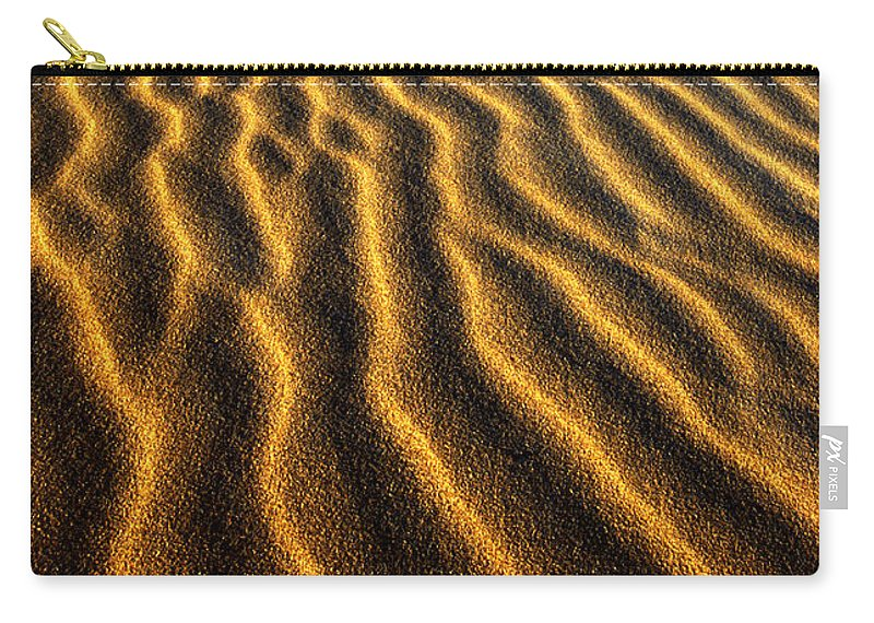 North America Carry-all Pouch featuring the photograph Ripples Oregon Dunes National Recreation Area by Dave Welling