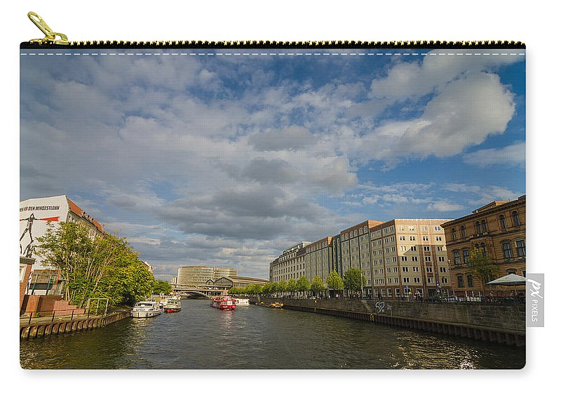 River Cruise Carry-all Pouch featuring the photograph River Cruise by Jonah Anderson