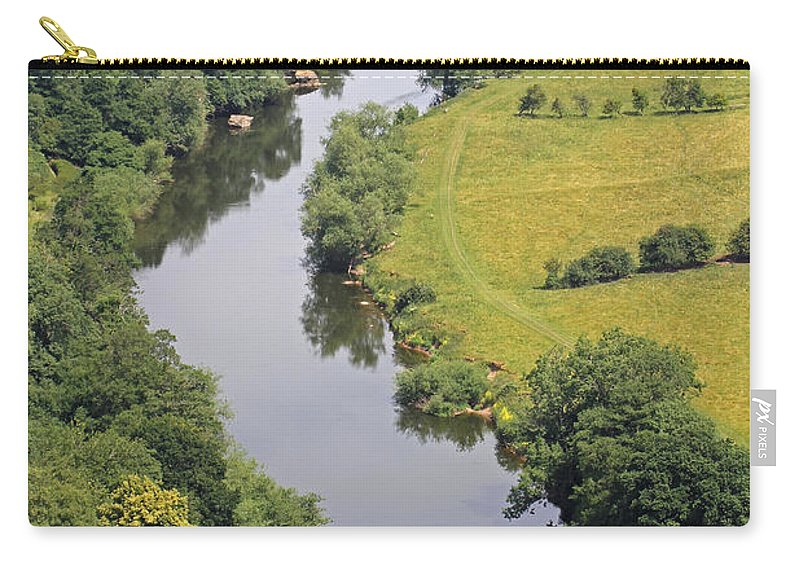 River Wye Carry-all Pouch featuring the photograph River Wye by Tony Murtagh