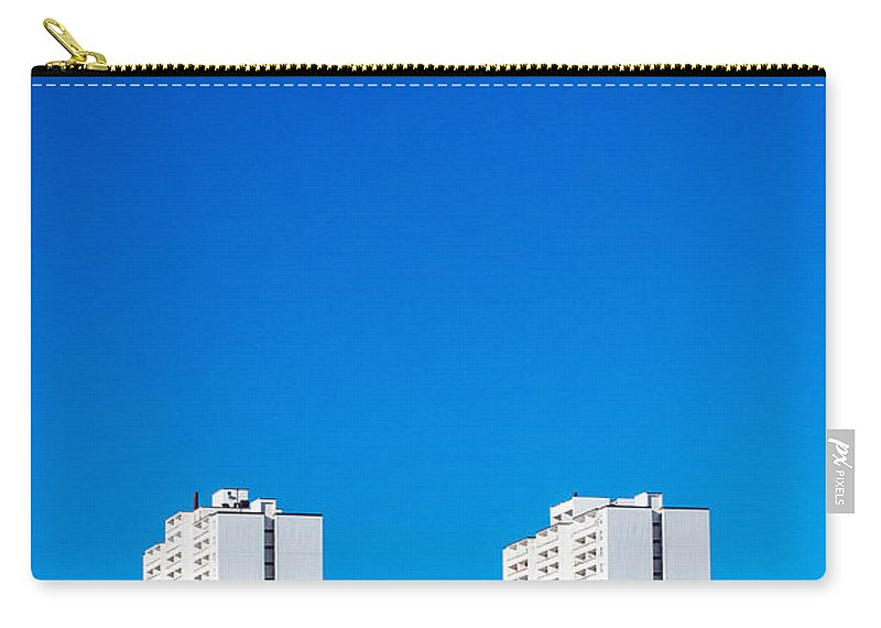 Toronto Carry-all Pouch featuring the photograph Riverdale Towers by Kyra Savolainen