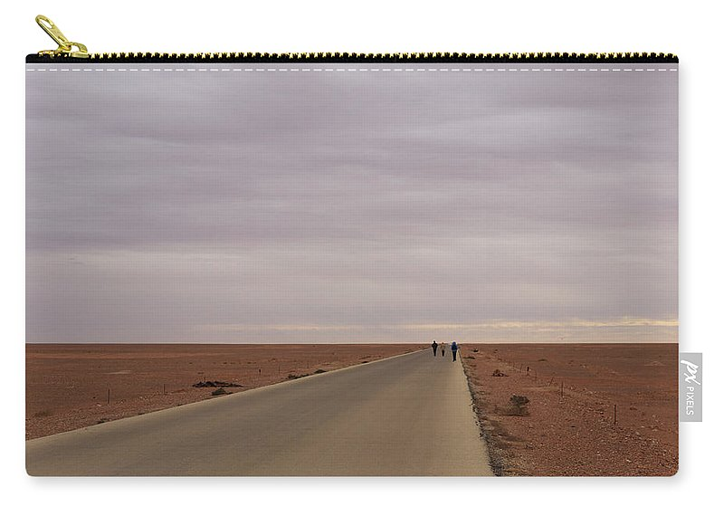 Road Carry-all Pouch featuring the photograph Road To Nowhere by Ivan Slosar