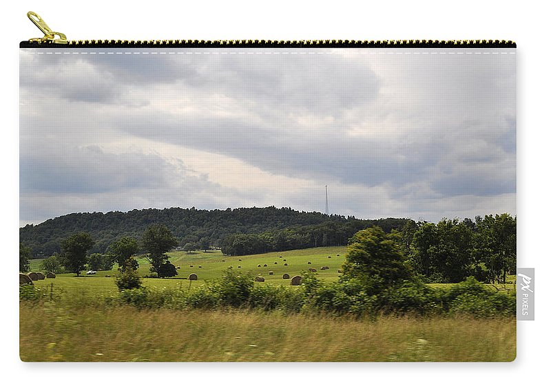 Mountains Carry-all Pouch featuring the photograph Road Trip 2012 by Verana Stark