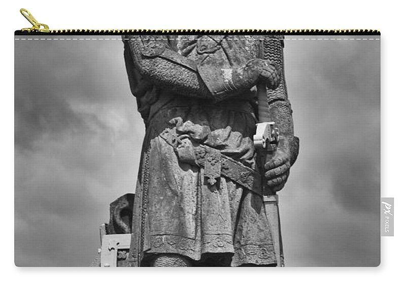 Bruce Carry-all Pouch featuring the photograph Robert The Bruce by Eunice Gibb