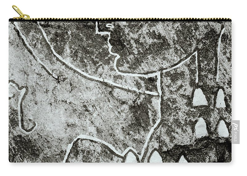 Abstract Carry-all Pouch featuring the photograph Surreal Lady by Shaun Higson