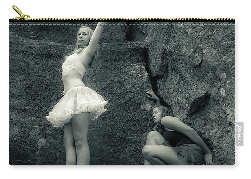 Ballet Carry-all Pouch featuring the photograph Rock Dancing by Scott Sawyer