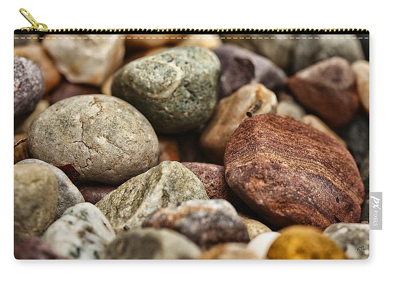 Rocks Carry-all Pouch featuring the photograph Rocks by Karol Livote
