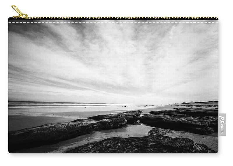 Atlantic Ocean Carry-all Pouch featuring the photograph Rocky Beach by Stefan Mazzola