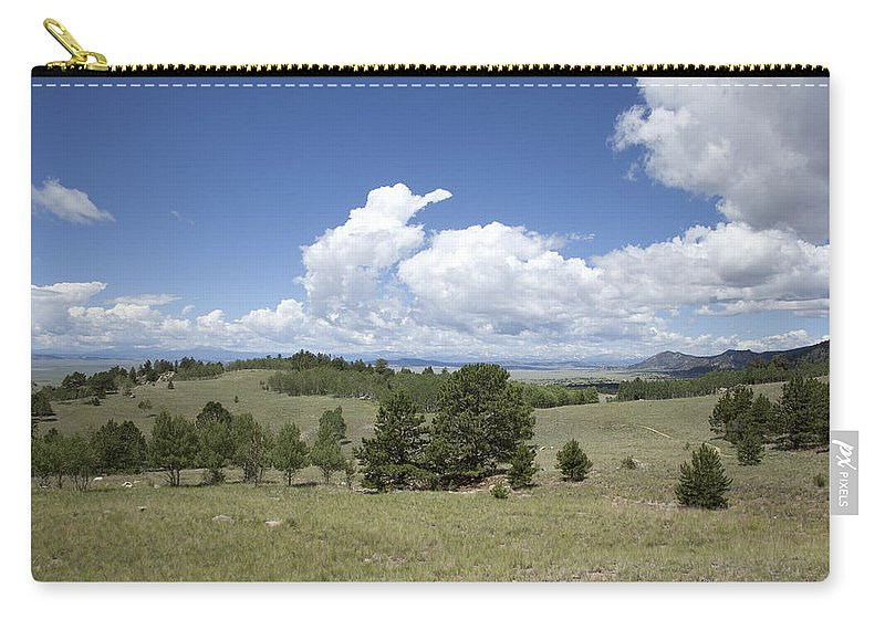Beautiful Carry-all Pouch featuring the photograph Rocky Mountain Meadow by Scott Sanders