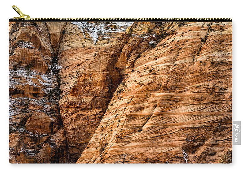 Utah Carry-all Pouch featuring the photograph Rocky Peak by Christopher Holmes