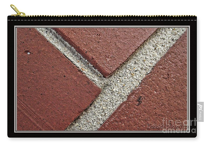 Arictural Carry-all Pouch featuring the photograph Rocky Road by Debbie Portwood