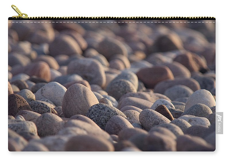 Balance Carry-all Pouch featuring the photograph Rocky Shore by Dreamland Media