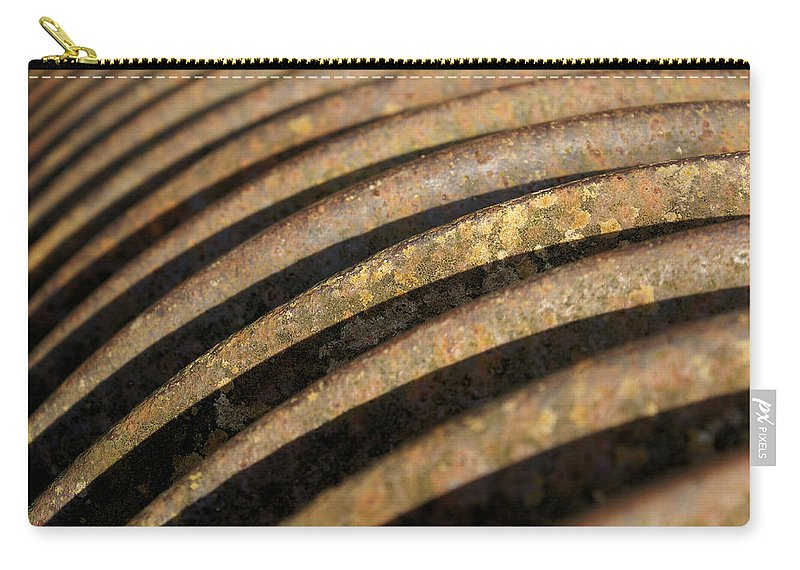 Farm Carry-all Pouch featuring the photograph Roller 1 by Ron Harpham