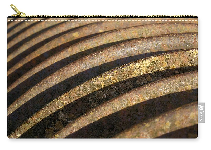 Rust Carry-all Pouch featuring the photograph Roller 2 by Ron Harpham