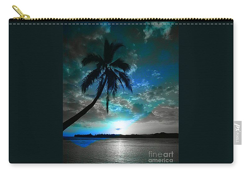 Digital Image Carry-all Pouch featuring the digital art Romance I by Yael VanGruber