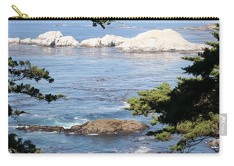 Coast Carry-all Pouch featuring the photograph Romantic View by Christiane Schulze Art And Photography