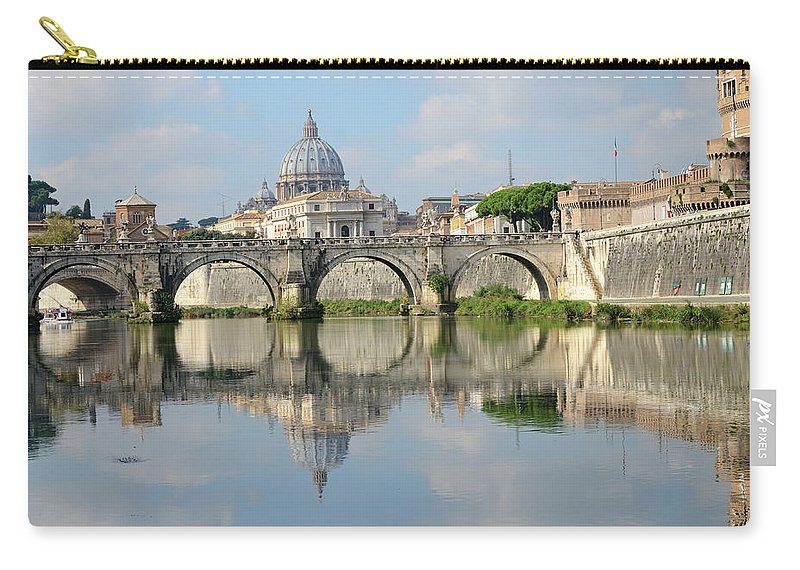 Arch Carry-all Pouch featuring the photograph Rome by Madzia71