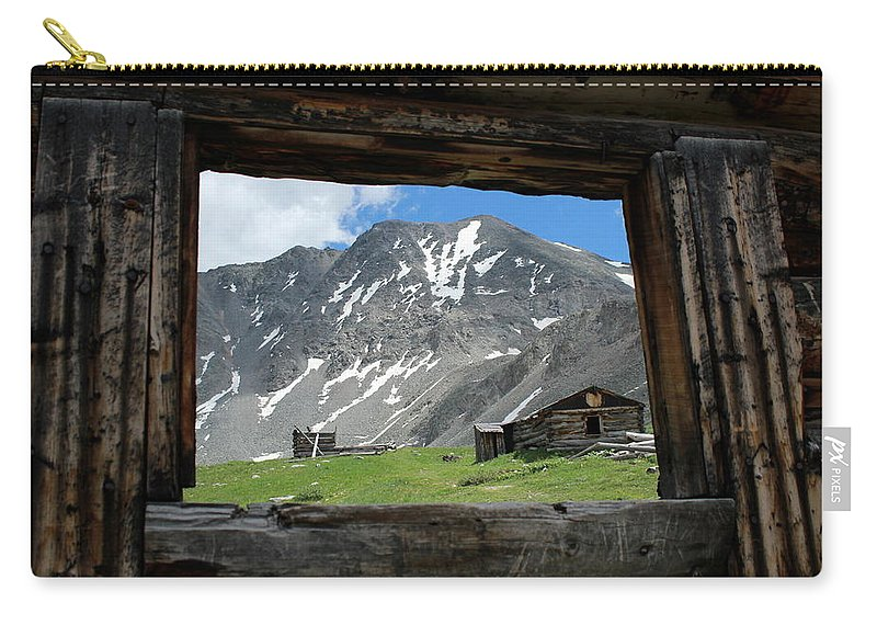 Breathtaking Views Carry-all Pouch featuring the photograph Room With A View by Fiona Kennard