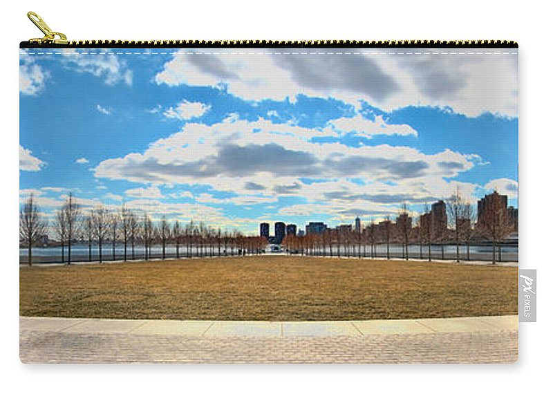 Roosevelt Island Carry-all Pouch featuring the photograph Roosevelt Island Memorial by S Paul Sahm